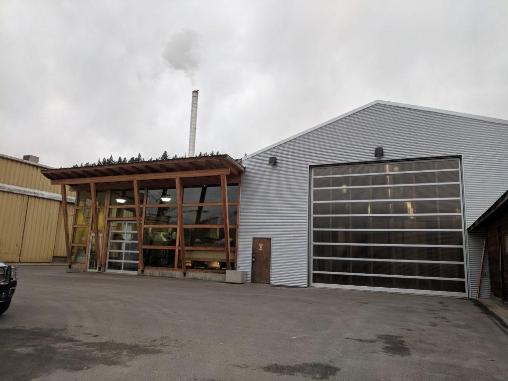 Fink Machine District Heating Centre