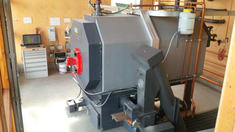 RF 540 kW Boiler